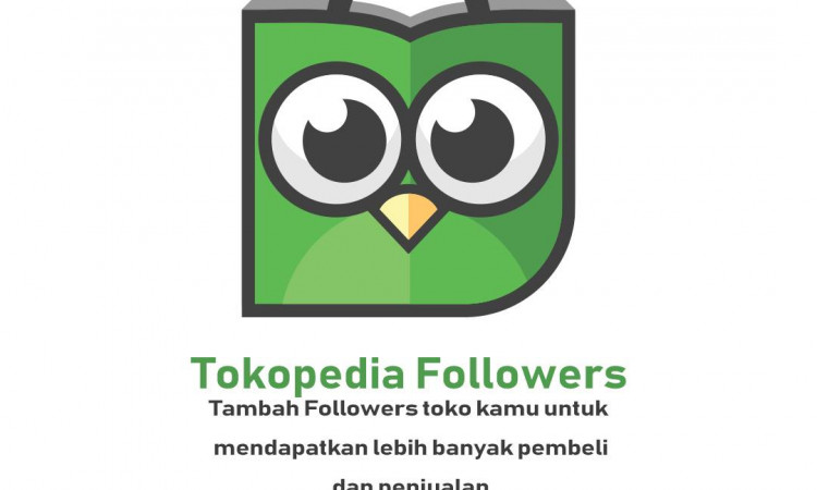 Jual Follower Tokopedia Aktif