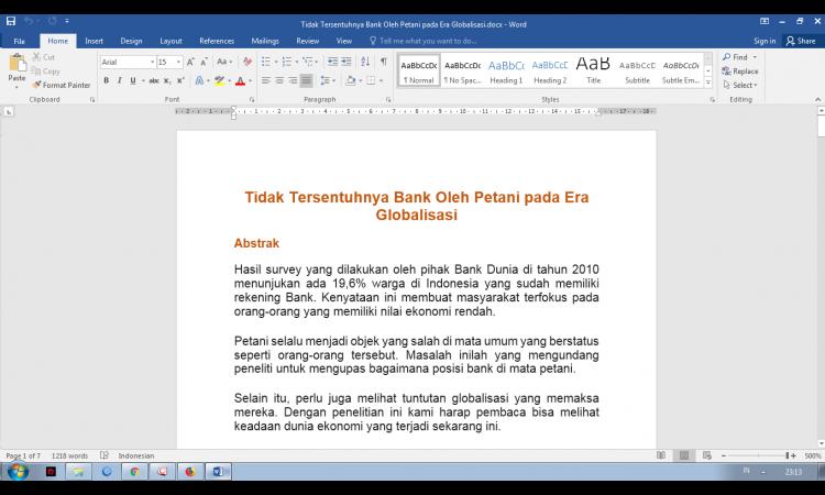 DI JUAL ARTIKEL 1-7 LEMBAR