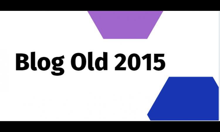 Jual Blog Lama Tahun 2015