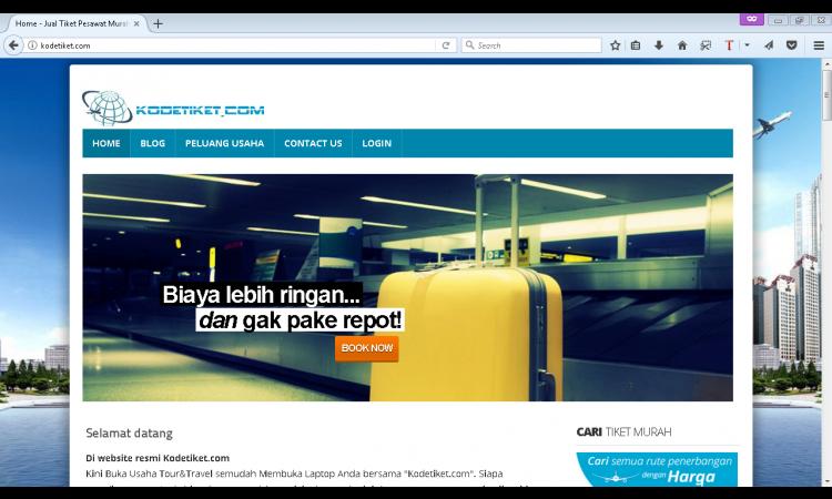 Website Autopilot untuk Bisnis Tour & Travel