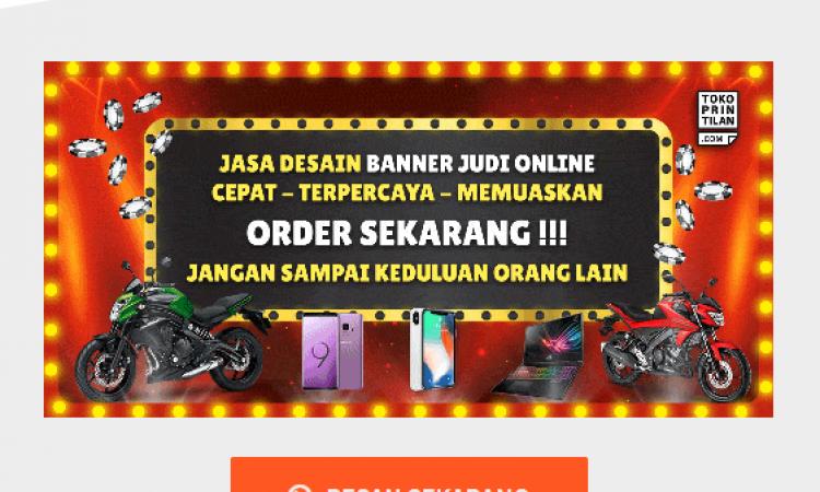 Jasa Desain Banner Online | Iklan | Web | Judi