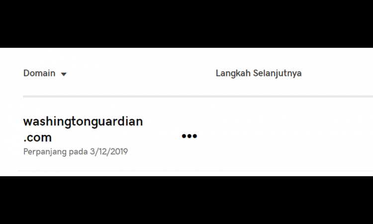 Domain Langka Washingtonguardian.com
