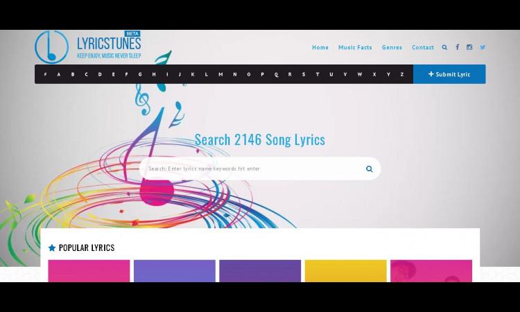 Website Lyricstunes