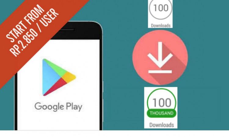 Jasa Menaikkan 1000 User App Install (Android Only)
