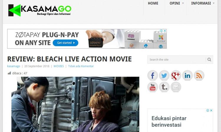 Di jual Blog Kasamago.com dengan topik utama Militer, Politik, Film dan Umum