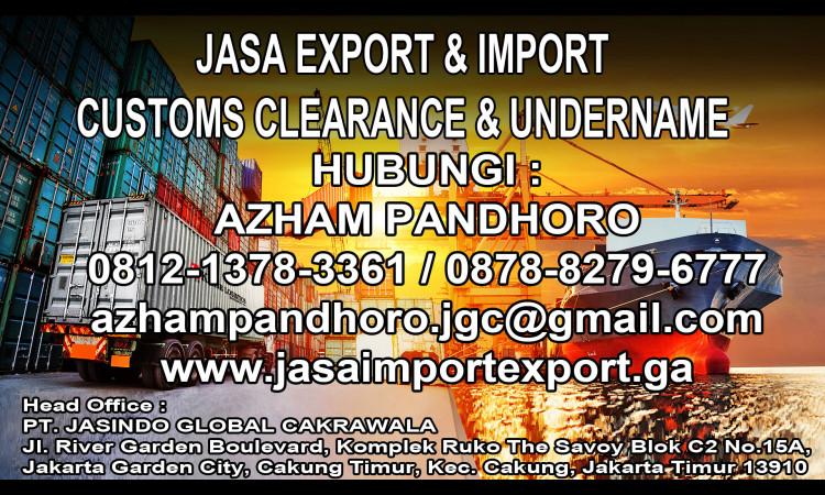 Jasa import resmi | JGC Cargo | Forwarder Import