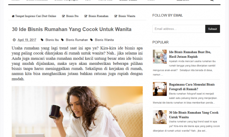 Jasa Penulisan Artikel Bahasa Indonesia
