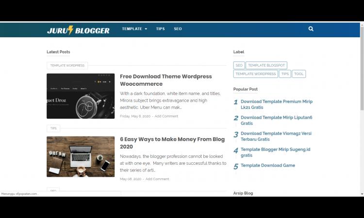 Jurusblogger.com Blogspot Domain TLD