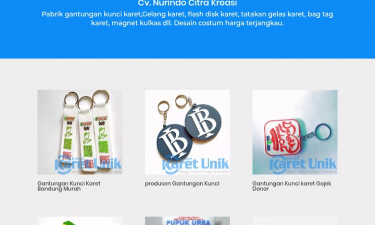 Jual website Souvenir