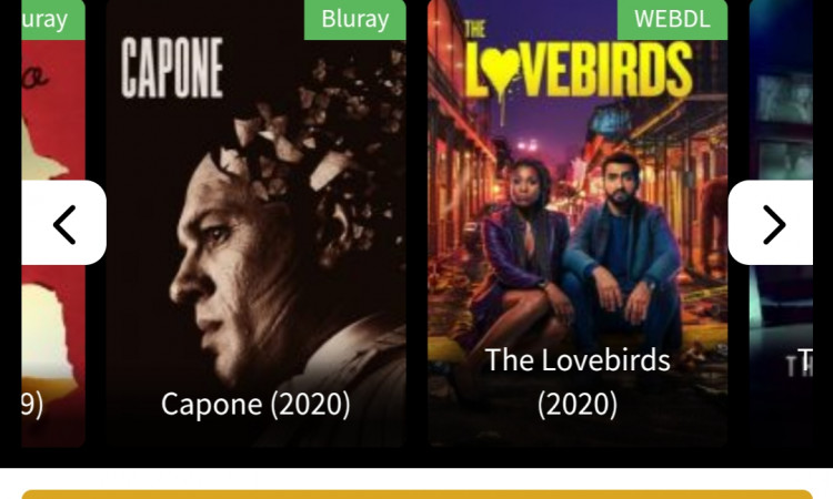 Website streaming movie