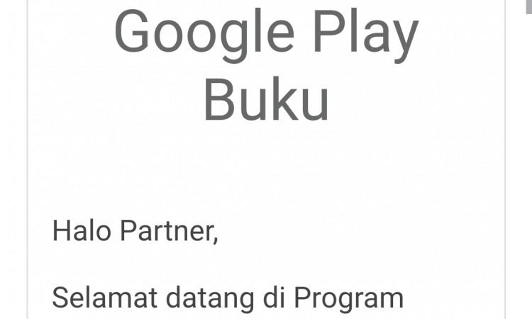 Akun Google Play Book