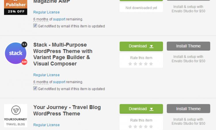 WTS Template Wordpress Edisi jual rugi untuk beli yg baru