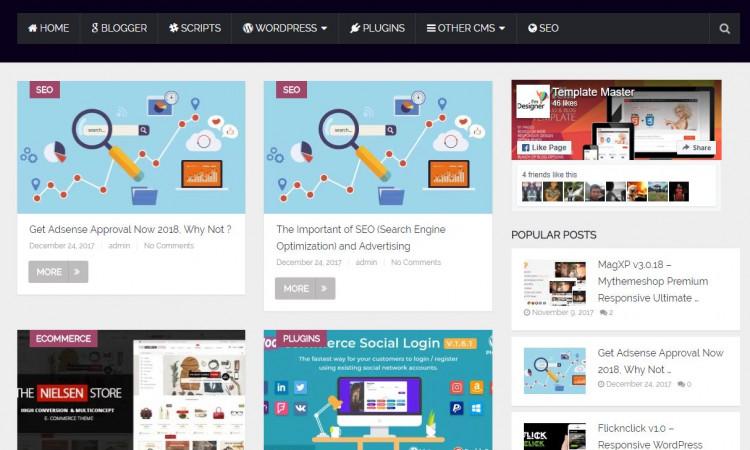 ,, (jual) Adsense + Hosting + Website (Self Host)