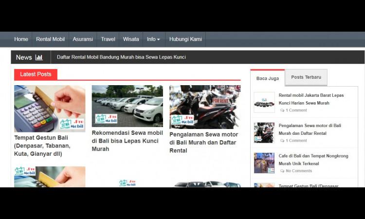 [WTS] Website Niche Rental Mobil