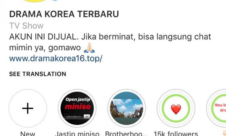 JUAL AKUN INSTAGRAM 20K (FOLLOWER REAL INDONESIA)