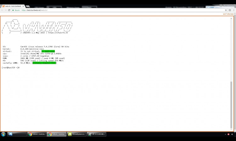 Di jual VPS Linux