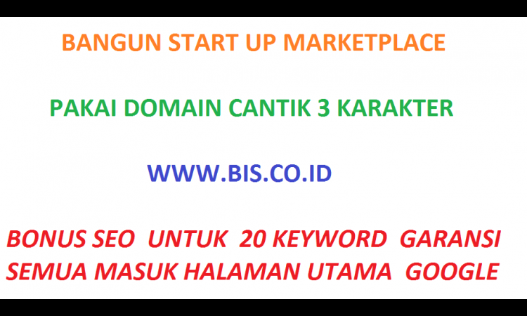 - A Premium Domain 3 Karakter Umur 18 Tahun CO.ID