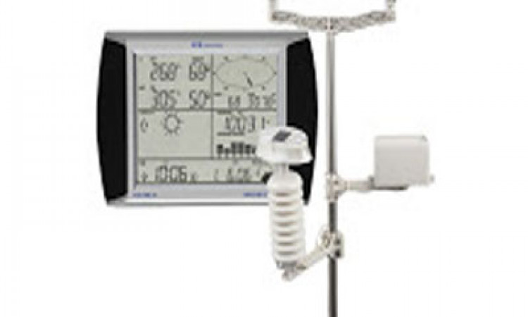 Weather Station PCE FWS 20 - Anemometer - Rain Gauge -