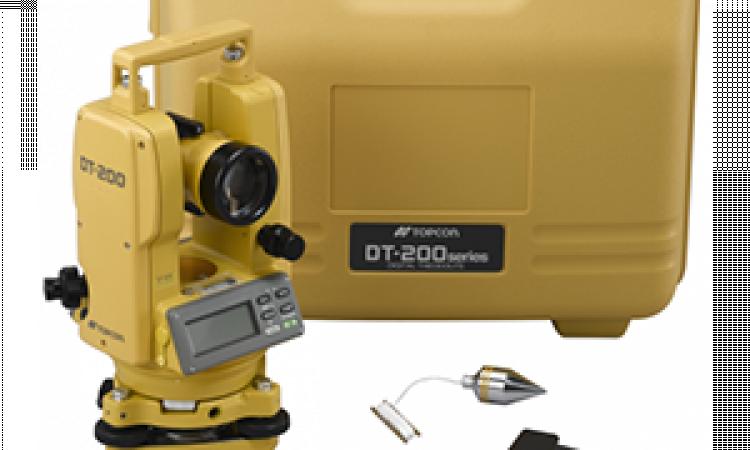Digital Theodolite Topocn DT-205 Laser */* Telp 0822 1729 4199