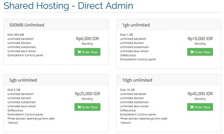 Hosting DirectAdmin