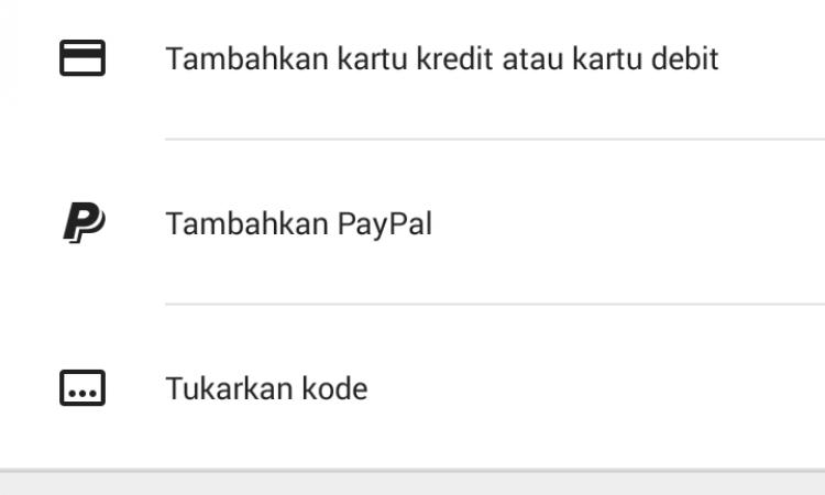Google play credits $100