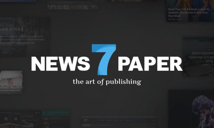Newspaper v7 Full Wordpress Theme